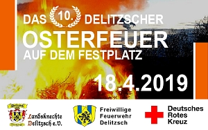 DRK-Osterfeuer 2019